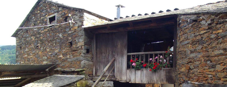 Pueblo de Argul, en Asturias
