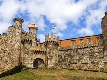El castillo de Ponferrada, recuerdo vivo de los templarios