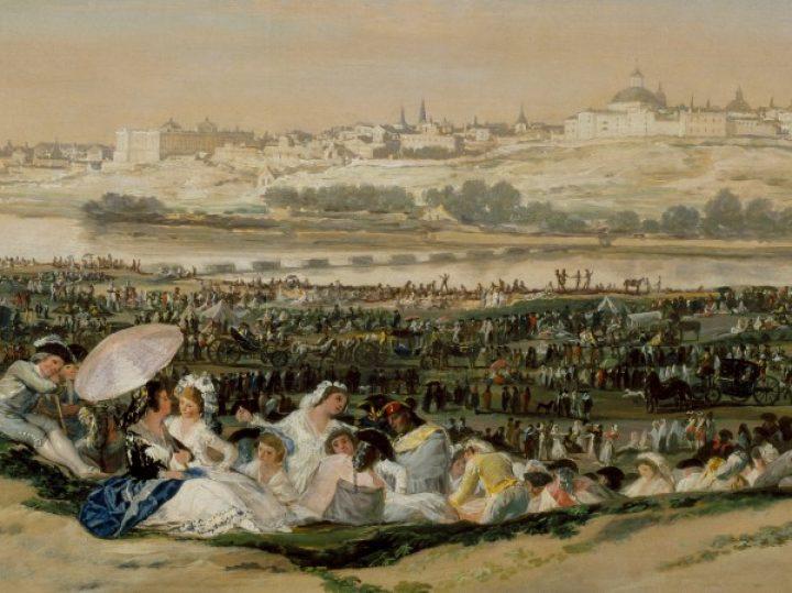 Las vistas de Goya desde la pradera de San Isidro | Cuadros con vida