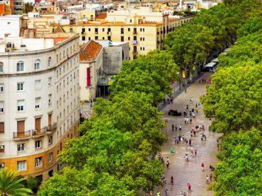 Las Ramblas de Barcelona, el eje emblemático de la capital catalana