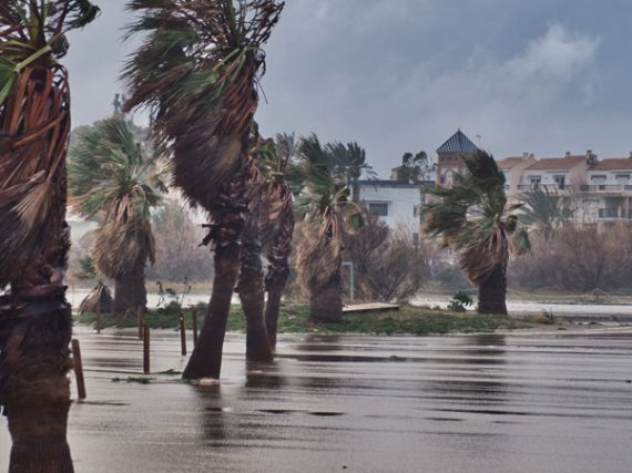 Los peores temporales de la historia de España