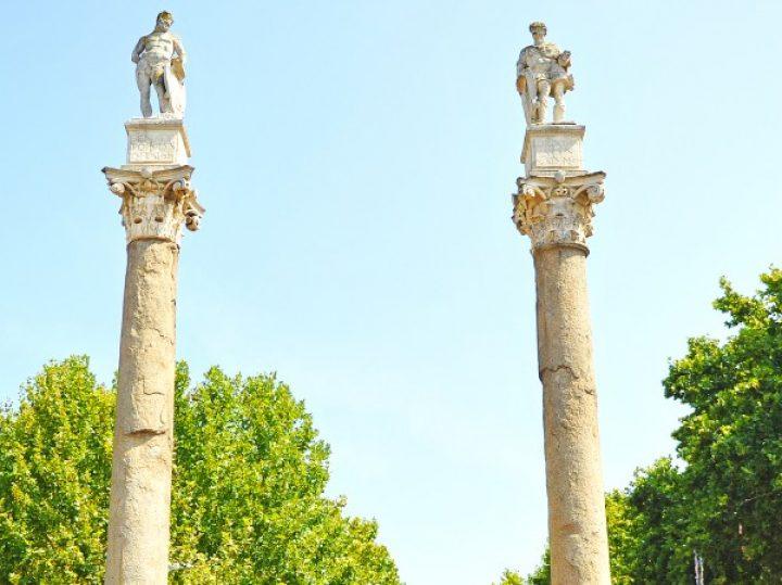 Alameda de Hércules en Sevilla, el paseo público más antiguo de España
