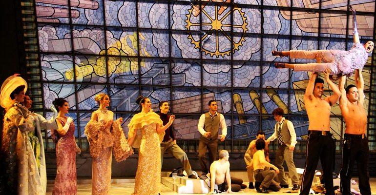 La magnificencia barroca en el Teatro de la Zarzuela.