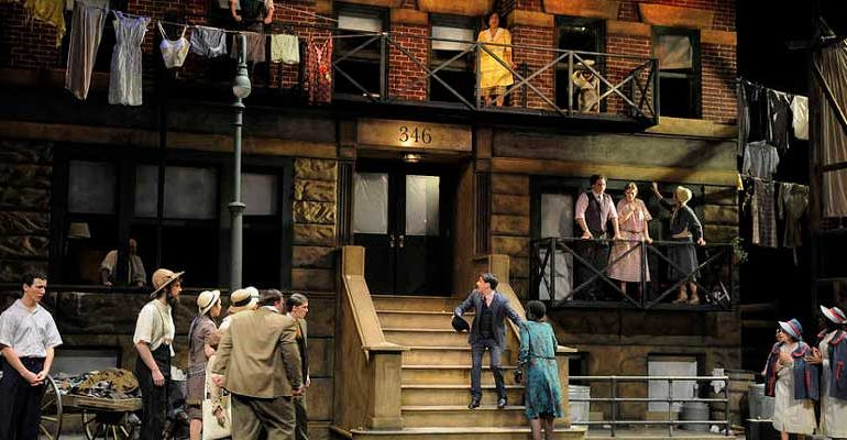 La inclasificable ópera Street Scene llega al Teatro Real