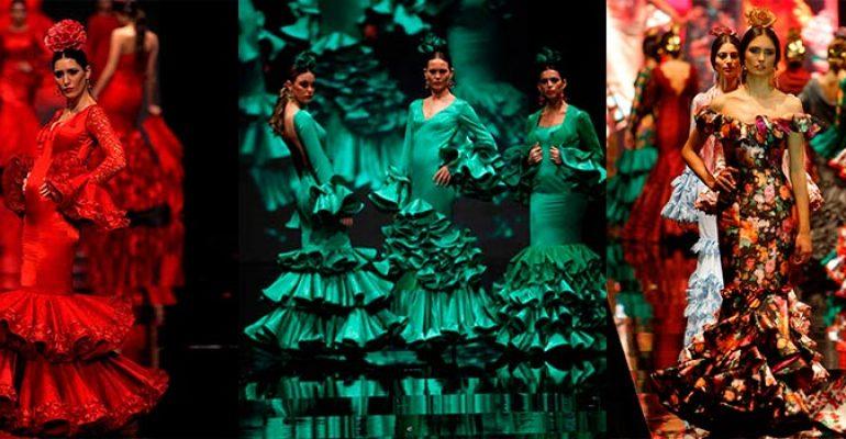 Los vestidos de flamenca más especiales de SIMOF 2016