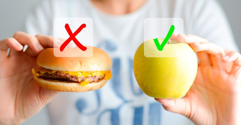 Antojos: sustitúyelos por alimentos sanos