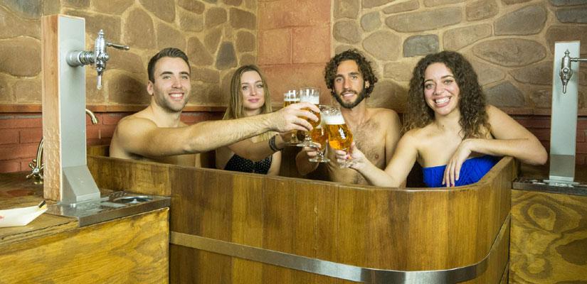 Granada inaugura primer spa cerveza