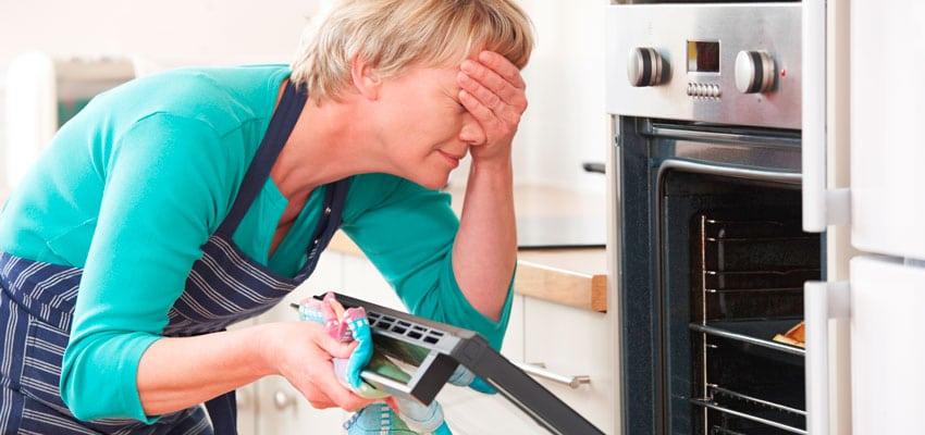 errores cocina