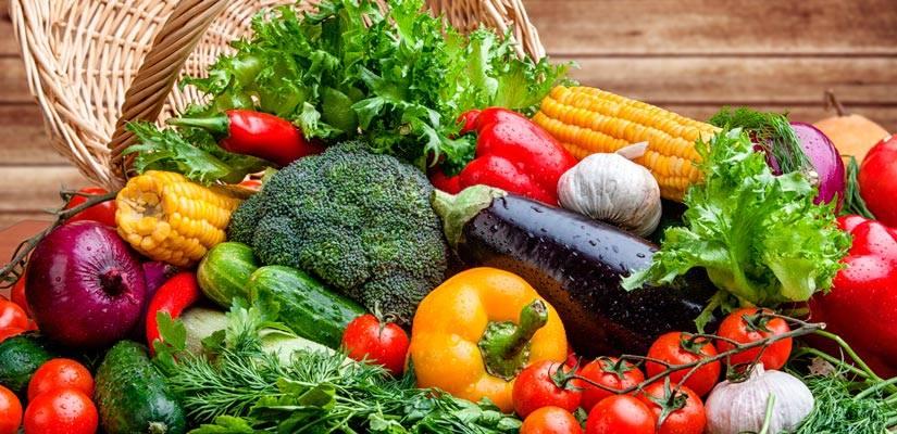 verduras crudas cocinadas