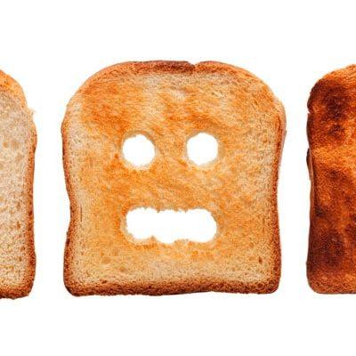 Quemar las tostadas: tu salud en riesgo