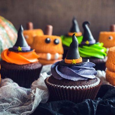 Magdalenas de Halloween