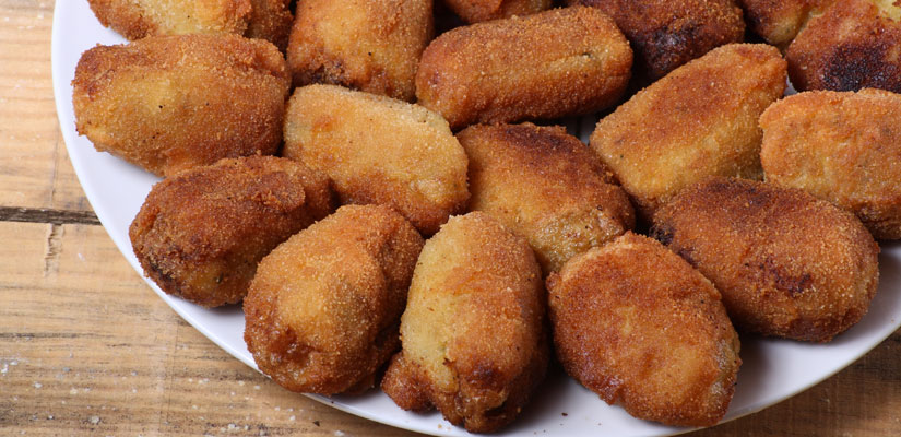 recetas croquetas sabor espanol