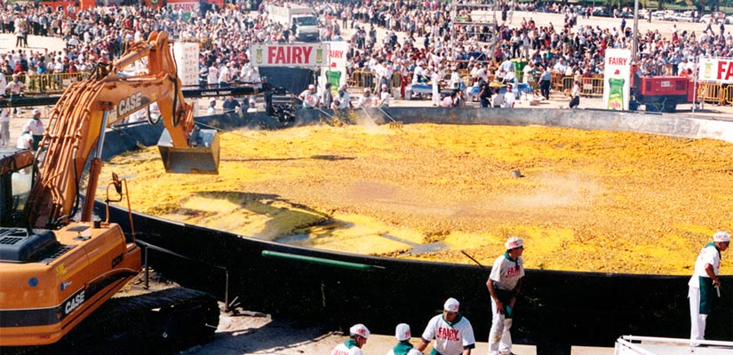 Record Guiness paella gigante