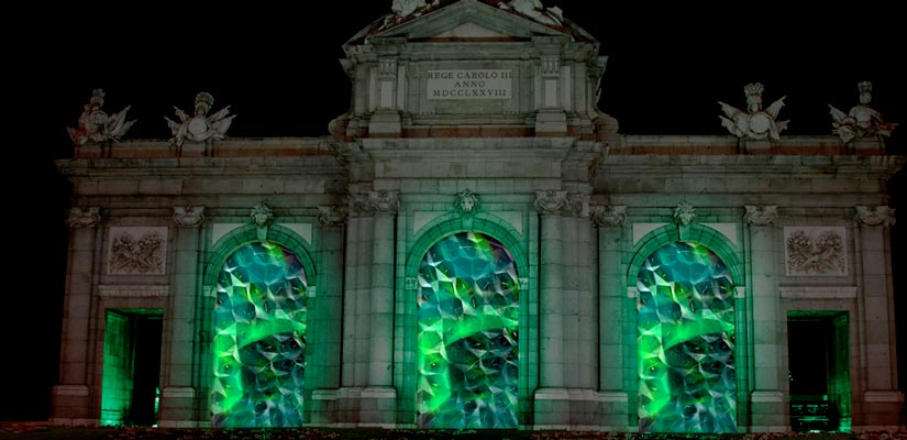 Alcala iluminacion madrid