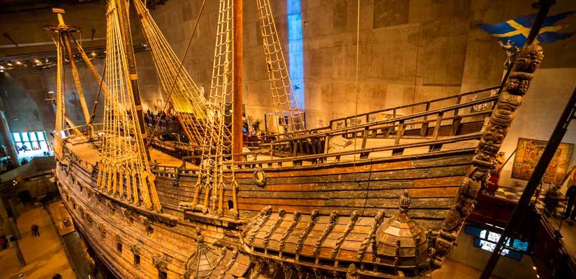 El poderío sueco que navegó 300 metros y se hundió durante 333 años