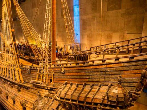 El poderío sueco que solo navegó 300 metros y se hundió durante 333 años