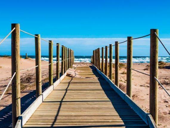 Playas de los parques naturales de Cataluña