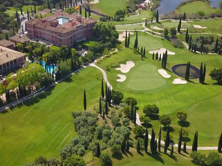 Villa Padierna Golf Club: Flamingos Golf, la belleza del paisaje