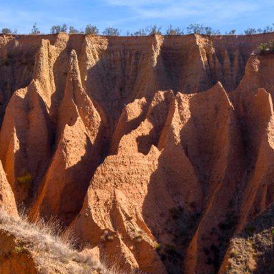 Las cárcavas de Alpedrete de la Sierra, un paisaje marciano