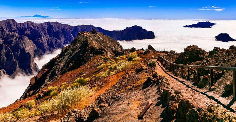 Carretera del Roque de los Muchachos, un viaje por la LP-4