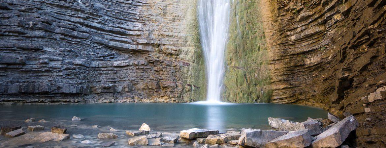 Cascada de Orós Bajo