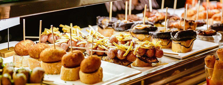 Cocina del País Vasco pintxos