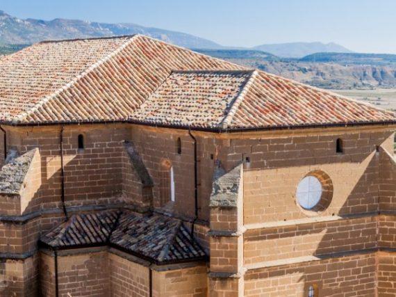 La colegiata de Bolea, un desconocido templo de arte puro en la Hoya de Huesca
