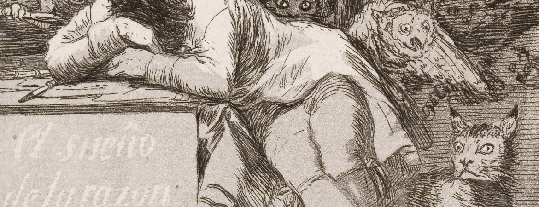 El sueño de la razón produce monstruos, de Francisco de Goya
