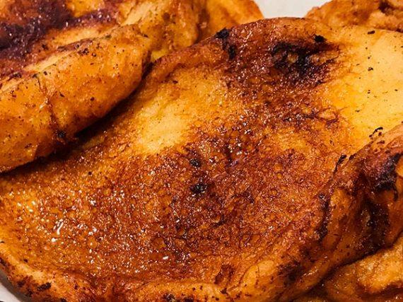 Receta española saludable: torrijas