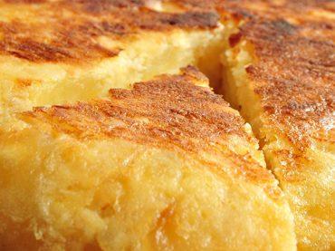 Receta española saludable: Tortilla de patatas