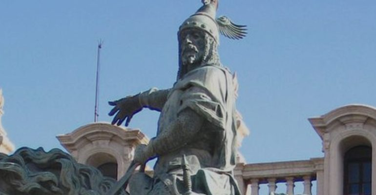 Las lágrimas de un rey por Valencia