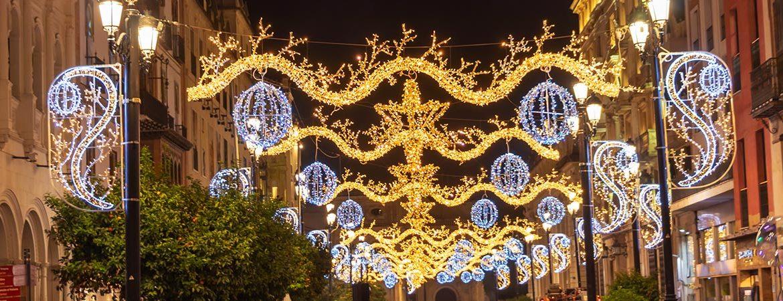 ciudades de España con más luces de navidad