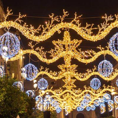 Ranking: las ciudades de España con más luces de navidad