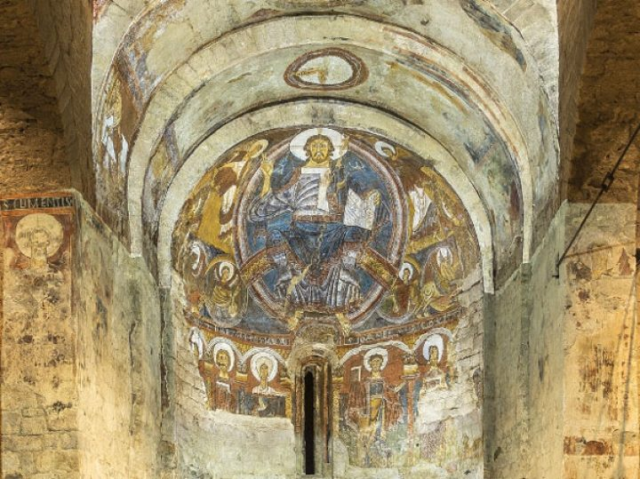 Iglesia de San Clemente de Tahull, pinturas que cobran vida