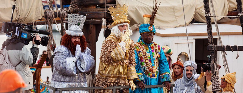 cabalgatas de Reyes de España