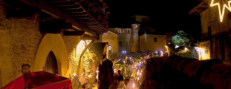 Pueblos de cuento navideño: Santillana