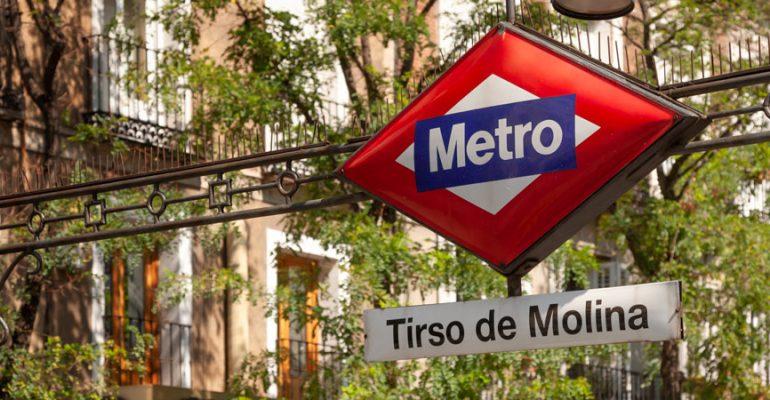 El cementerio oculto de la estación de metro de Tirso de Molina