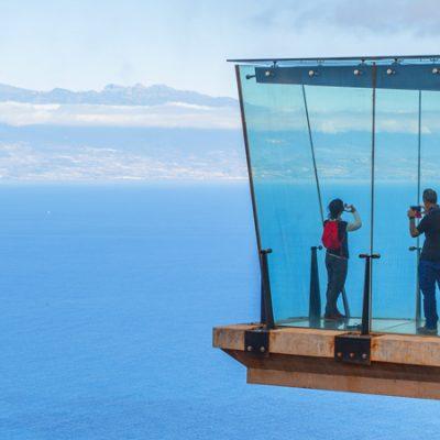 El Mirador de Abrante, suspendido a 600 metros entre las nubes