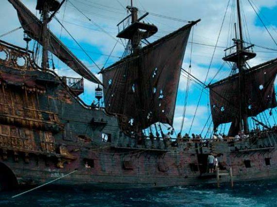 La Perla Negra, el impresionante y real barco de Piratas del Caribe