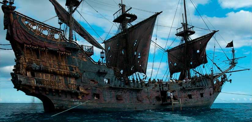 perla negra piratas caribe