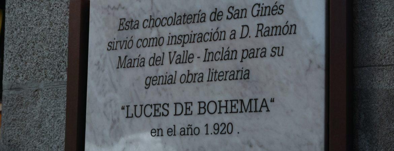 Placa de Valle-Inclán