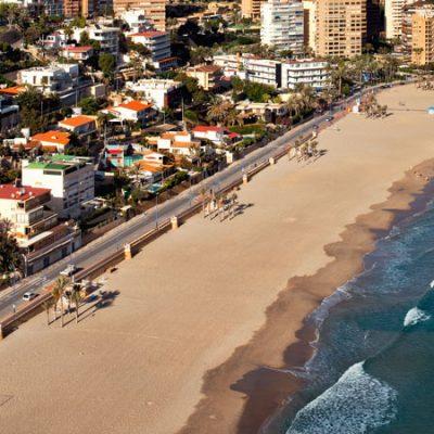 Las playas de Benidorm estarán cerradas al medio día y por la noche