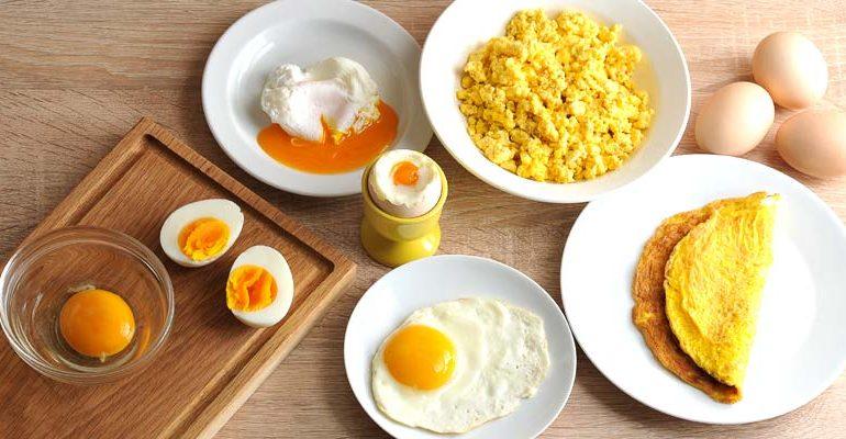 Recetas simples con huevos