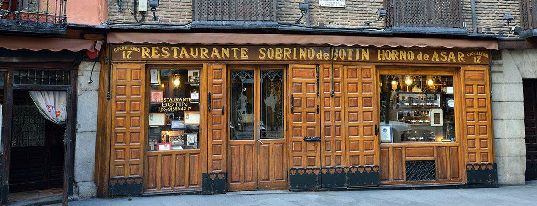 Restaurantes más antiguos de España