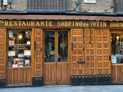 Los bares y restaurantes más antiguos de España