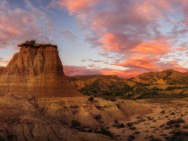 Los Tozales de Monegros, un espectáculo de la naturaleza