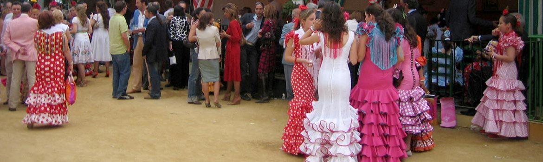 Trajes regionales en Sevilla