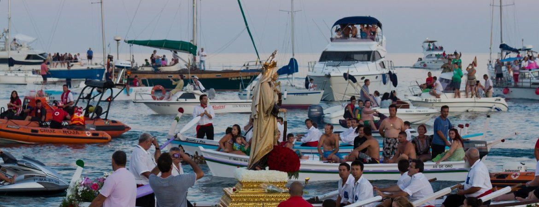 Mejores procesiones de la Virgen del Carmen en España