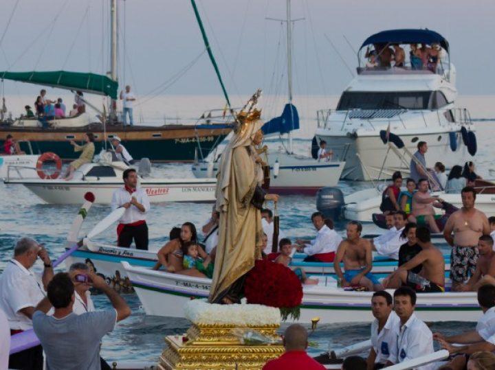Las mejores procesiones de la Virgen del Carmen de España