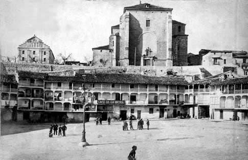plaza chinchon foto antigua
